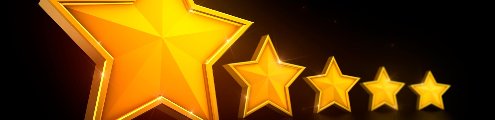 Five Stars Rep Score